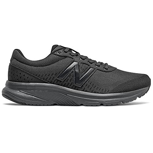 New Balance 411v2, Zapatillas para Correr de Carretera Hombre, Negro (Black), 45 EU