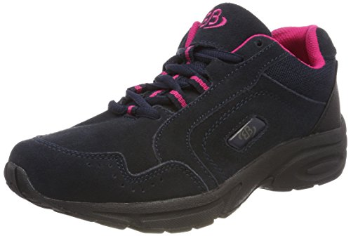 Bruetting Damen Circle Walkingschuhe, Blau (Marine/Pink), 38 EU