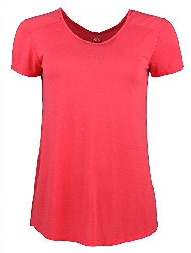 York Gitti-L Da. Shirt 40 Rot