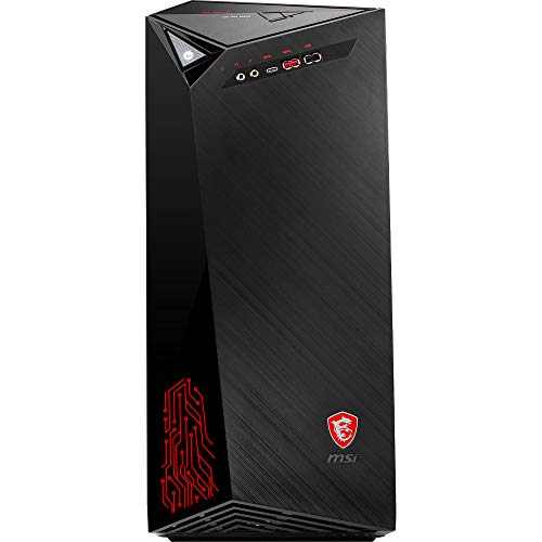 MSI Infinite 9SI-852EU Desktop-PC (Intel Core i7-9700F, 8GB RAM, 1TB HDD, 512GB SSD, Nvidia GeForce GTX 1660Ti iTX, Windows 10 Home) zwart