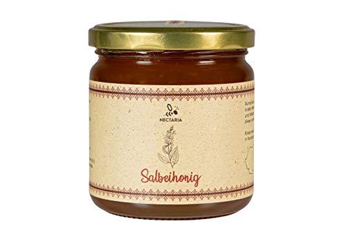 Salbeihonig (500 g) I fein, sanft, natürlich, ohne Zusätze I Naturprodukt aus traditioneller Imkerei der Karpaten