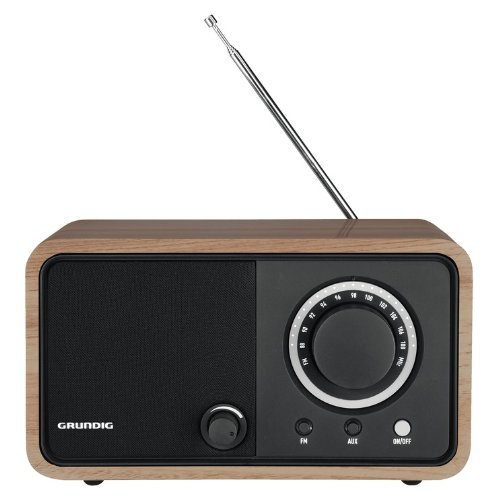 GRUNDING GRR2740 TR 1200 Glossy Oak Rádio sobremesa Color