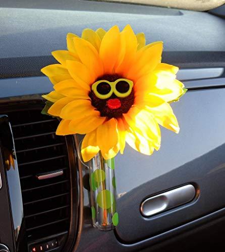 Bling My Bug - Gafas de Sol, diseño de Girasol, Color Verde