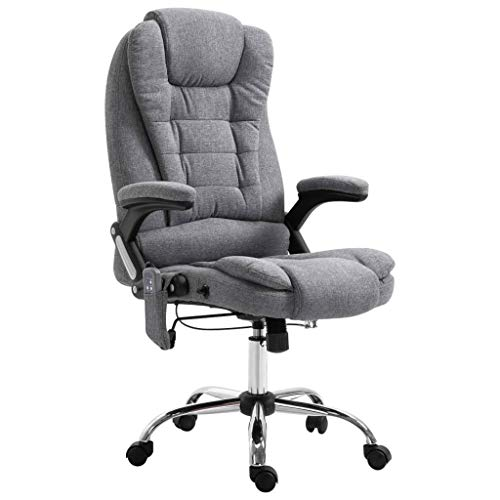 vidaXL Bürostuhl Gamingstuhl Massagesessel Massagefunktion und Heizfunktion