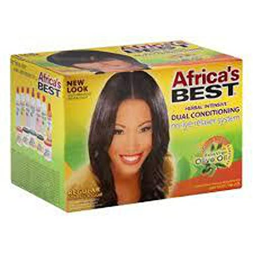 Africa\'s BEST NO-LYE DUAL CONDITIONING RELAXER SYSTEM REGULA
