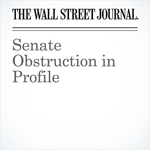 Senate Obstruction in Profile copertina