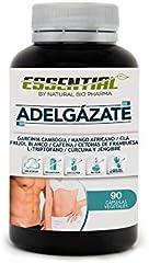Potente Adelgazante, Quemagrasas y Reductor del Apetito   Acción adelgazante 3 en 1 100% eficaz   Estimulante del Metabolismo   Pierde peso rápida y naturalmente   90 Cápsulas.