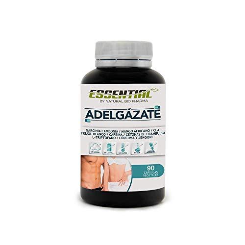 Potente Adelgazante  Quemagrasas y Reductor del Apetito | Acción adelgazante 3 en 1 100% eficaz | Estimulante del Metabolismo | Pierde peso rápida y naturalmente | 90 Cápsulas.