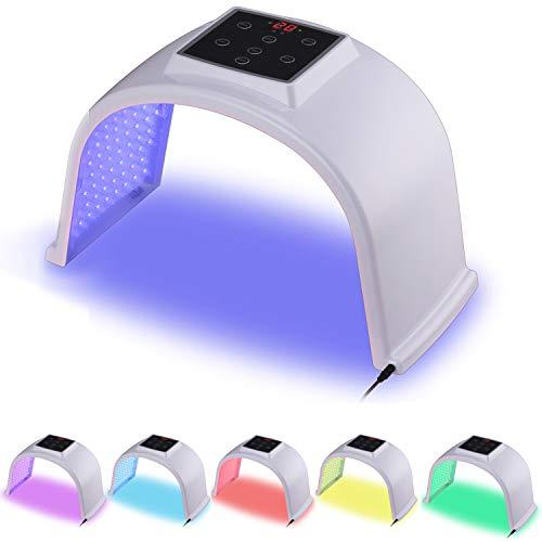 BOWKA LED Photonentherapie Geräte PDT 7 in 1 Schönheit Gesichtsmaske für Gesicht Hals Körper Anti-falten Akne Entfernung Hautverjüngung Poren schrumpfen Ölige Haut verbessern anti-Akne