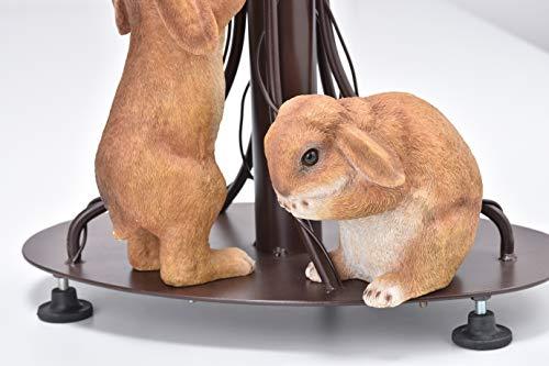 セトクラフト『スタンドポスト(垂れ耳ウサギ)(SI-3801-RD)』