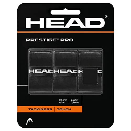 HEAD Unisex-Erwachsene Prestige Pro Griffband, Black, Einheitsgröße