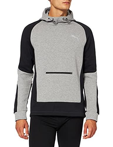PUMA Męska bluza z kapturem Evostripe czarny czarny XL