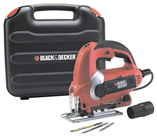 Black & Decker KS900EKX 600-Watt Variable Speed Slightline Autoselect Pendulum Jigsaw