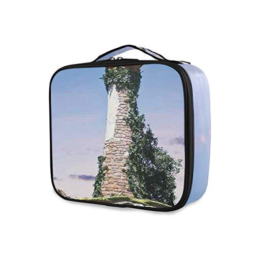 SUGARHE Fiktiver Zauberer Turm sitzendes Felsen Insel Haus des Magier übernatürlichen...