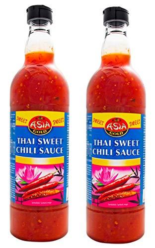 Salsa thai dulce chili (Thai Sweet Chili Sauce) pack 2 unidades de 700 ml