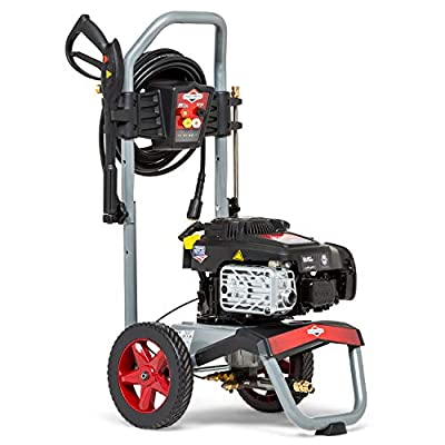 Briggs & Stratton 020739 ELITE 3200Q Petrol Pressure Washer with Quiet Sense Technology 3200 max PSI/220 Bar - 875EXi Series 190 cc Engine from Briggs and Stratton