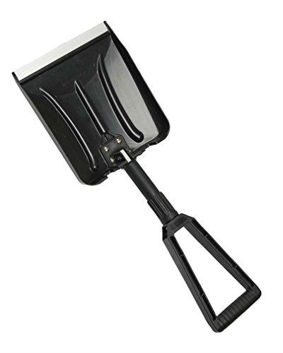 Mil-Tec ABS Plegable Pala De Nieve Negro