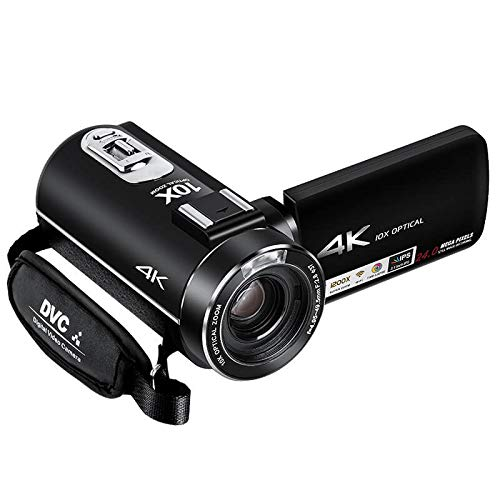 Lipa AD-C7 videocamera 4K Ultra HD Sony CMOS lens Wifi / 4K resolutie / Full HD 60 FPS / Sony sensor / 24 megapixels / LED lamp / 120x zoom digitaal, 10x optische zoom / Aansluiting externe microfoon en statief
