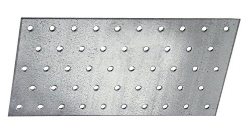 Connex Sparpack Lochplatten 60 x 140 x 2 mm, verzinkt, 25 Stück, HVG2030