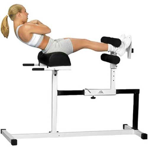 Yukon Glute, Hamstring, Back, and Abs Hyperextension Bench. GHD Exercise Machine - Glute Ham Developer