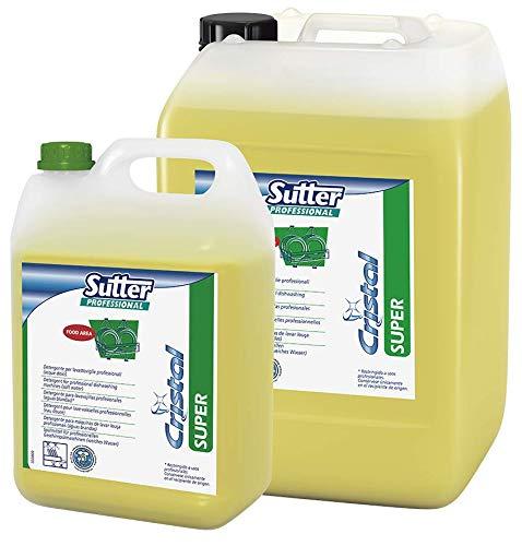 Sutter Super detergente lavastoviglie e forni autopulenti professionali (acque dolci) - Cartone : 4 taniche kg.6