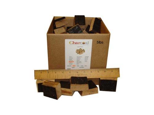 CharcoalStore Bourbon Barrel Wood Smoking Chunks (5 Pounds)
