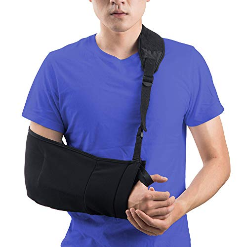 Medical Support arm Sling for Shoulder Injury Women and Men Immobilizer Left and Right Elbow Arm Fracture Rotator Cuff Injury