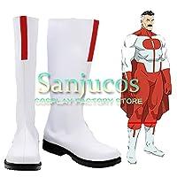 オムニマン Omni-Man コスプレ 靴 ブーツ コスプレ靴 cosplay オーダーサイズ/スタイル 製作可能 【Sanjucos】(サイズオーダー)
