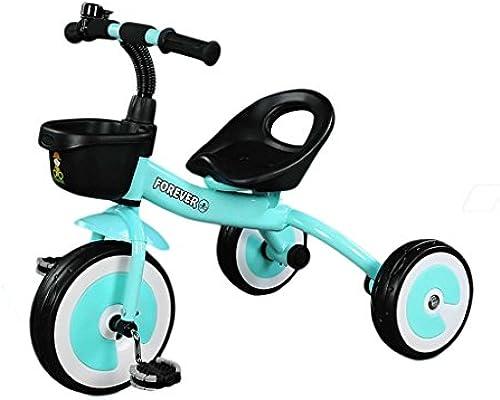 Kinder Dreirad - Baby Balance fürrad, Kinder fürt Auf Spielzeug, Sicher Und Bequem Infant First Bike Für Alter Von 24 Bis 60 Monaten, Eine Gute M ichkeit, Motorik Zu Entwickeln Und Viel Spaß ,Blau