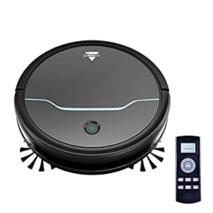 BISSELL EV675 Robot Vacuum Cleaner for Pet Hair with Self Charging Dock, 2503, Black