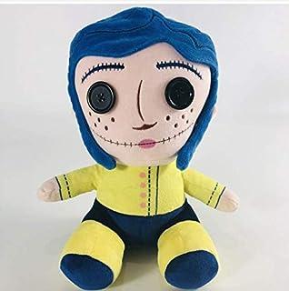 Cartoon Animal Pluche Toy, Cute Coraline Phunny Gevulde pop, Kerst Halloween Verjaardagsfeestje Gift Kinderen 25cm Dirgee