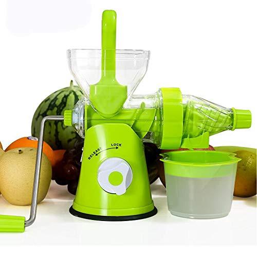 Mini Presse Juicer Cup Handgefertigte Früchte Gemüse Orange Wassermelone Karottensaft Hand Kurbel Reamer Home Verwenden Grün