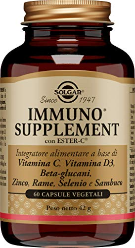 Solgar Immuno Supplement Confezione da 60 capsule