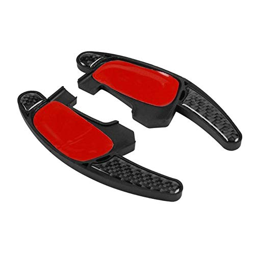 TINTABO Auto Lenkrad Shifter Extension Shift Paddles Aufkleber Innendekoration, für VW Golf 7 GTI R7 6 GTI Passat