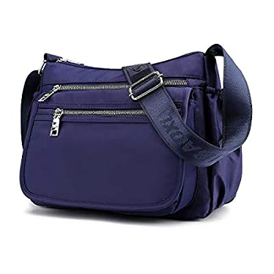 ZOCAI Nylon Crossbody Purse Small Shoulder Bag ...