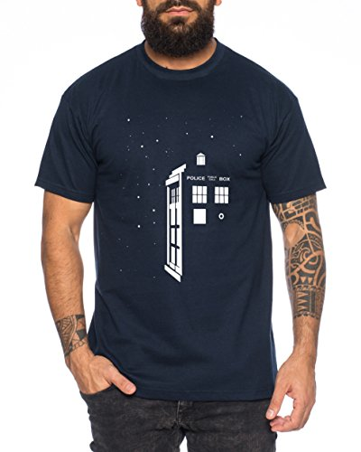 Star Doctor UK Who Space Box Dalek dr Police Doctor Camiseta de...