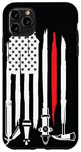 iPhone 11 Pro Max firefighter, firefighter flag, fireman, fire department Case