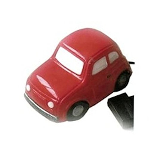 Lampe Veilleuse LED Design Mini Cooper Rouge