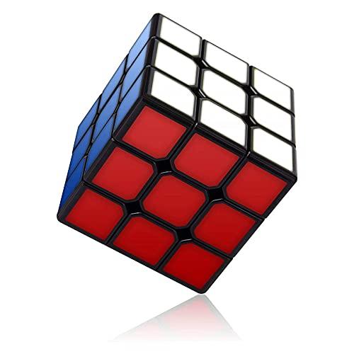 Vdealen Speed Cube, Cyclone Boys 3x3 Cubo Magico 56mm Speedcube, Tornitura Facile & Gioco Regolare, Solid Durable 3D Puzzle con Struttura Anti-Pop