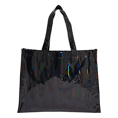 adidas IXQ34-GD1662 Mochila Shopper M para Mujer, Negro, Talla Única
