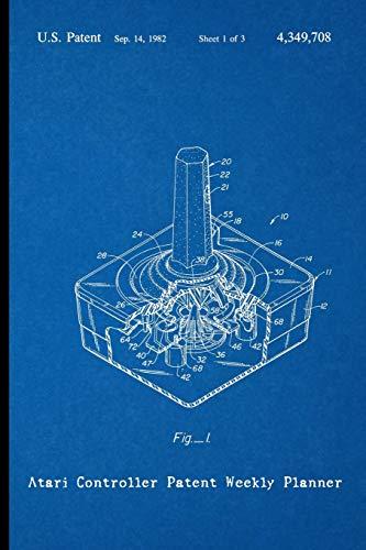 Atari Controller Patent Weekly Planner