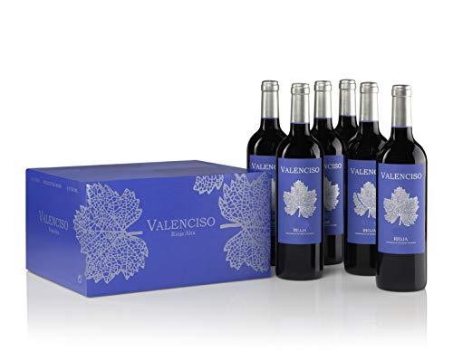 Vino Tinto Valenciso Reserva - D.O. Rioja - 6 botellas 75cl