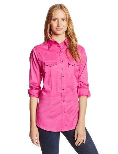 Wrangler -Camisa Mujer Rosa S