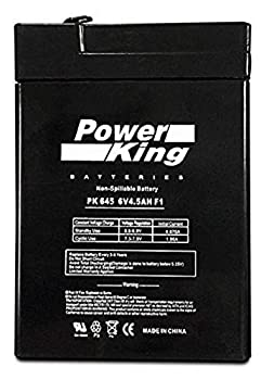3FM4.5 6 Volt 4.5 AmpH SLA Replacement Battery with F1 Terminal Beiter DC Power