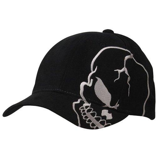 Skull Skeleton Cotton Adjustable Baseball Cap