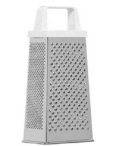 KitchenCraft 4 Sided Cheese Grater, Stainless Steel, 21 cm Tall