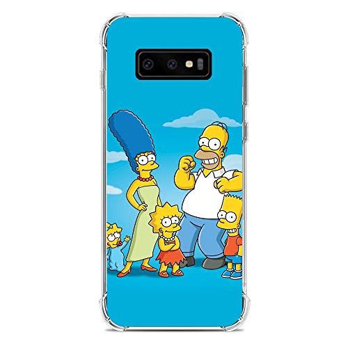 Soft Clear Shockproof Thin Durable Flexible Case for Samsung Galaxy S10e-The-Simpson Homer-Father 3