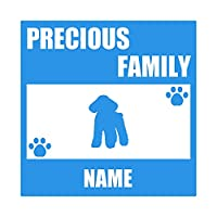 ForzaGroup 全犬種 全猫種対応 トイプードル6 (137-60) 犬 イヌ 車 ステッカー 名前入れ