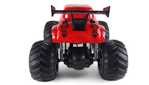 Amewi 22455 Crazy Hot Rod Schwarz 1:16 RC Einsteiger Modellauto Elektro Monstertruck 100% RTR 2,4GHz inkl
