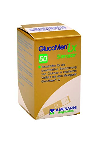 EurimPharm Arzneimittel GmbH Glucomen LX Sensor Teststreifen 50 Stück 0